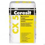 Цемент Ceresit СХ5 ВД монтажный и водоотталкивающи, Салехард