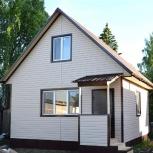 Двухэтажный дачный каркасный дом 5,5 м х 5,5 м., Салехард