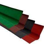 Ендова Ондулин красный длина - 1м, полезная длина, Салехард