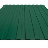 Профнастил С-8 RAL 6005 зеленый мох 1150х0.35, Салехард