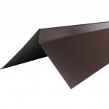 Планка торцевая полиэстер Технониколь RAL 8017 кор, Салехард