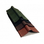 Коньковый элемент Ондулин коричневый длина - 1м, п, Салехард