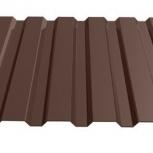 Профнастил МП-20 RAL 8017 шоколад 1100х0.70, Салехард