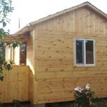 Деревянный дачный дом 5 м х 4 м х 4,5 м за 2 недели., Салехард