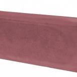 Бордюр ТЗБИ Односторонний Вибролитой 500х210х70 Кр, Салехард